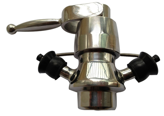Aseptic sample valve