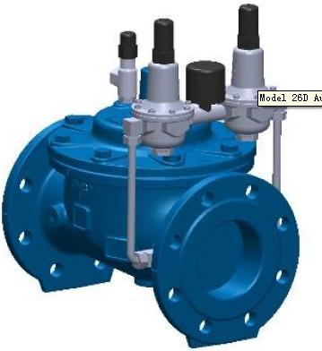 Automatic multi Pressure Reducing Valves