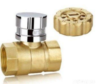 Brass Locable Ball bawul