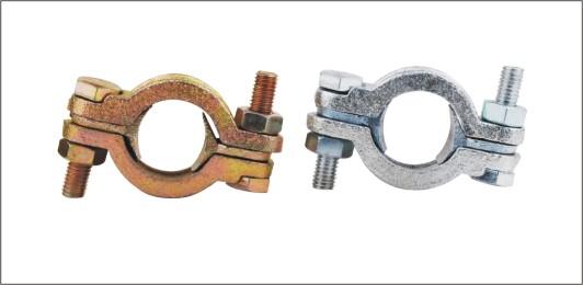 Double bolt hose clamps