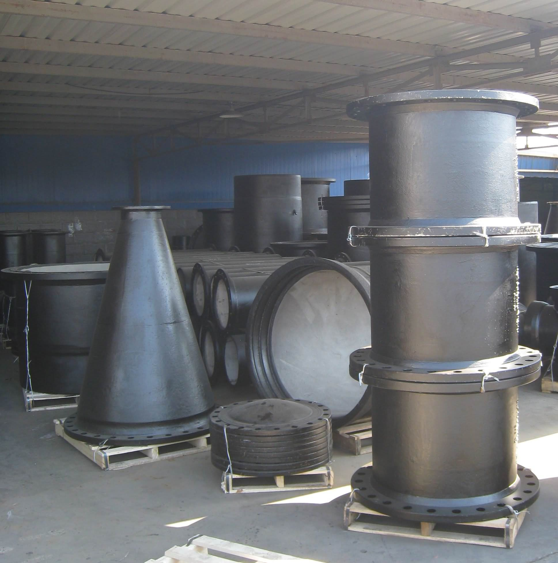 Ductile Iron Pipe Fittings, ISO2531 EN545 -8