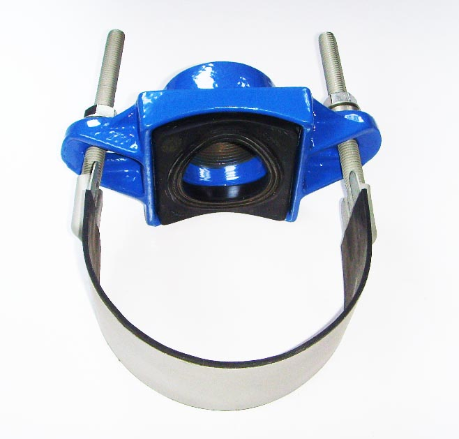 Ductile Iron with Stainless Steel Strap