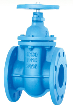 Flanged End Non-Rising Stem Gate Valves-DIN3352 F4 PN10,O-Ring Type