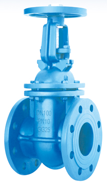 Flanged End Rising Stem Gate Valves-DIN3352 F4 PN10