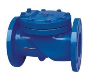 Flanged End Swing Check Valves-45Degree Resilient Seated-BS5153