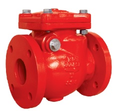 Flanged End Swing Check Valves-AWWA C508-UL FM Approval