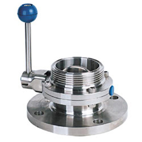 Flanged-Threaded Butterfly Valve