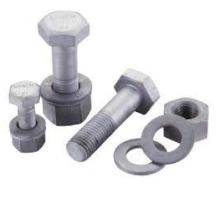 Hexagon bolts and nuts