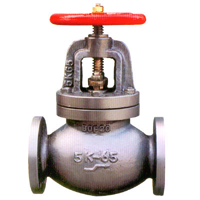 JIS F7353-F7375 Marine Cast Iron Screw-Down Check Globe Valves