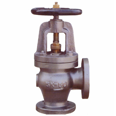 JIS F7354-F7376 Marine Cast Iron Screw-Down Check Angle Valves