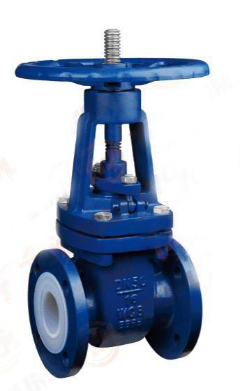 PFA Lined Gate Valves