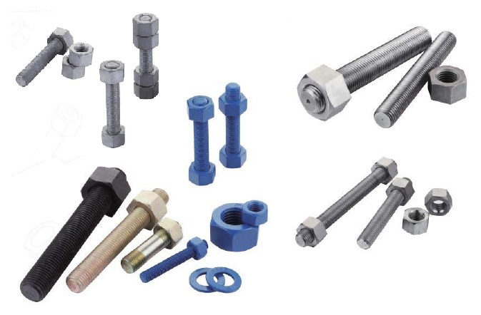 Stud bolts and nuts