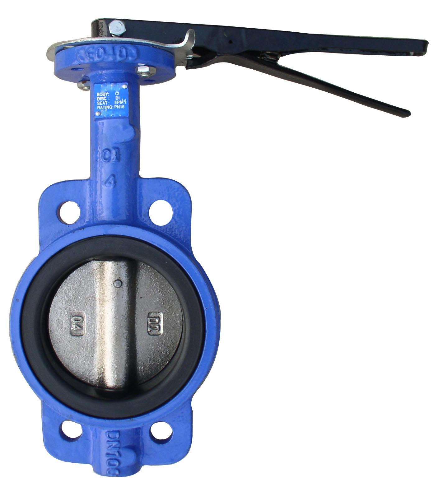 Wafer Type Butterfly Valves,F101,Stem with Pin