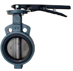 Wafer Type Butterfly Valves,F109,Stem with Pin