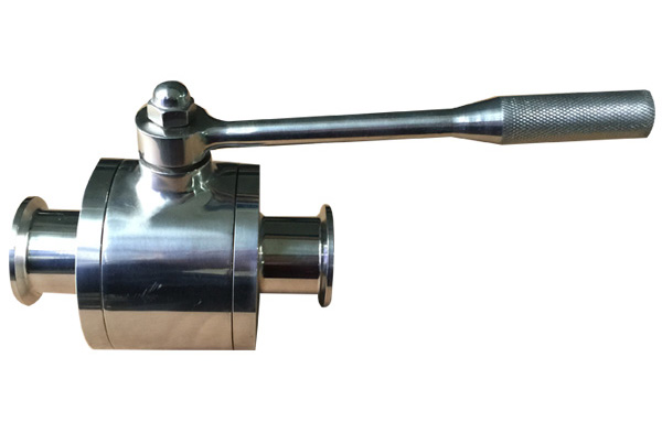 Clamped Ball Valve