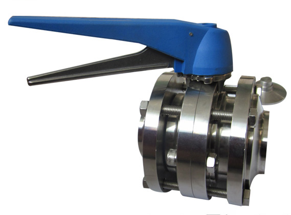 Three Pieces Butterfly Valves