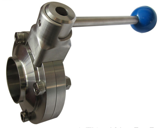 Welded Butterfly Valve with pulling handle