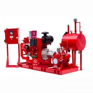 Split-case Fire Pump Group